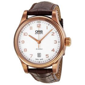 Oris 01 733 7594 4891-07 6 20 12 Classic Date Mens Automatic Watch