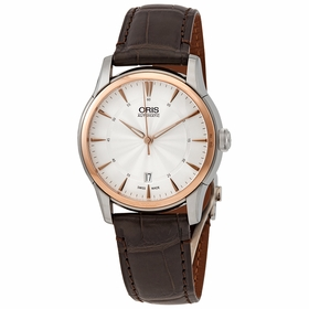 Oris 01 733 7670 6351-07 1 21 73FC Artelier Date Mens Automatic Watch