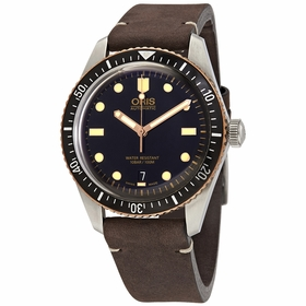 Oris 01 733 7707 4354-07 5 20 55 Divers Sixty-Five Mens Automatic Watch