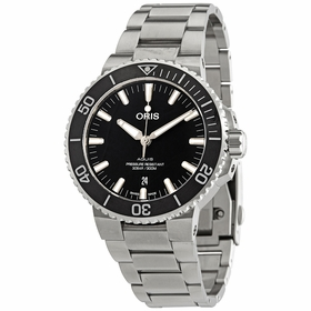 Oris 01 733 7730 4124-07 8 24 05EB Aquis Date Mens Automatic Watch