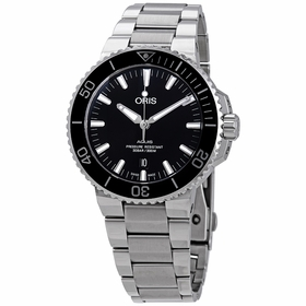 Oris 01 733 7730 4134-07 8 24 05PEB Aquis Date Mens Automatic Watch
