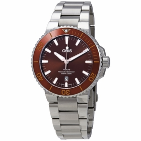 Oris 01 733 7730 4152-07 8 24 05PEB Aquis Date Mens Automatic Watch
