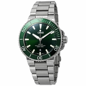 Oris 01 733 7730 4157-07 8 24 05PEB Aquis Date Mens Automatic Watch