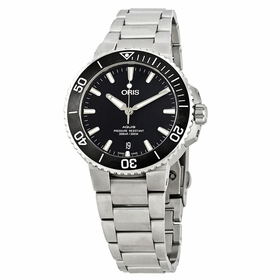 Oris 01 733 7732 4124-07 8 21 05EB Aquis Mens Automatic Watch
