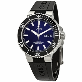 Oris 01 752 7733 4135-07 4 24 64EB Aquis Big Day Date Mens Automatic Watch