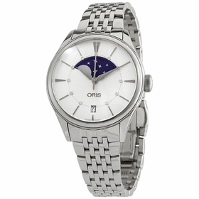 Oris 01 763 7723 4051-07 8 18 79 Artelier Grande Lune Ladies Automatic Watch