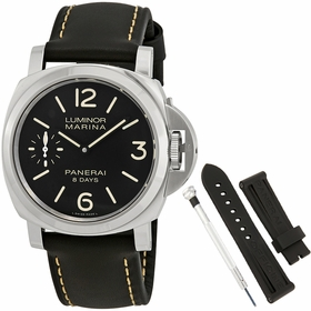 Panerai PAM00510 Luminor Marina Mens Hand Wind Watch