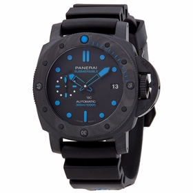 Panerai PAM00960 Submersible Carbontech Mens Automatic Watch