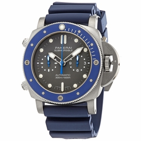 Panerai PAM00982 Submersible Chrono Guillaume Nery Edition Mens Chronograph Automatic Watch
