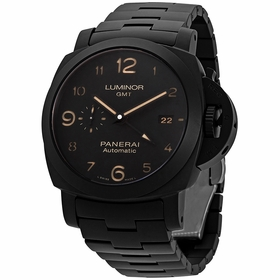 Panerai PAM01438 Tuttonero Luminor GMT Mens Automatic Watch
