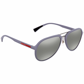 Prada 0PS 05RS K3E2B0 58 Linea Rossa Mens  Sunglasses