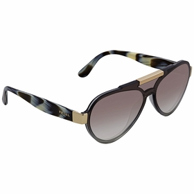 Prada PR 01US BRU0A7 44  Ladies  Sunglasses
