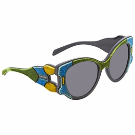 Prada PR 10US I8A5S0 54  Ladies  Sunglasses