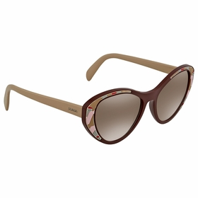 Prada PR 14US LJ84O0 55  Ladies  Sunglasses