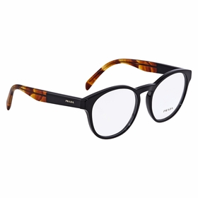 Prada PR-16TV-1AB1O1-52 TRIANGLE LOGO Ladies  Eyeglasses