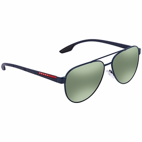 Prada PR PS54TS 7AN213 58 Linea Rossa Mens  Sunglasses