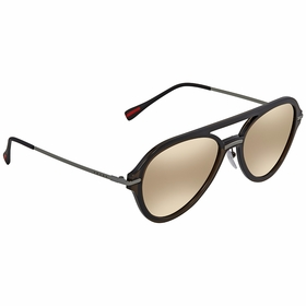 Prada PS 04TS 5N9HD0 57 Linea Rossa Mens  Sunglasses