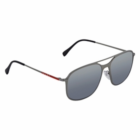 Prada PS 04TS P2X5Z1 57 Linea Rossa Mens  Sunglasses