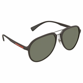 Prada PS 05RS UB05X1 58 Linea Rossa Mens  Sunglasses