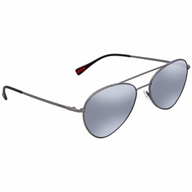 Prada PS 50SS 7CQ5L0 57 Linea Rossa Mens  Sunglasses