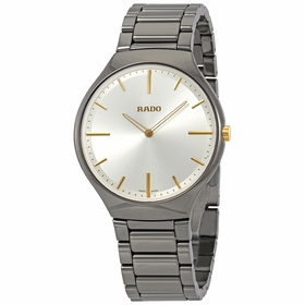Rado R27955112 True Thin Mens Quartz Watch