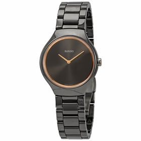 Rado R27956132 True Thinline Ladies Quartz Watch