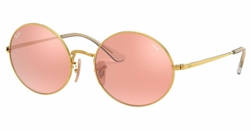 Ray Ban RB1970 001/3E 54 Oval 1970 Mirror Evolve Ladies  Sunglasses