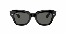 Ray Ban RB2186 901/58 49 State Street Unisex  Sunglasses