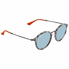 Ray Ban RB2447 124652 49 Round Fleck Pop Unisex  Sunglasses