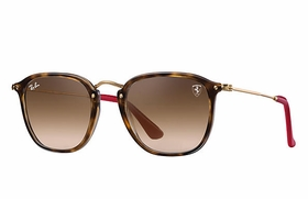 Ray Ban RB2448NM F60351 51 Scuderia Ferrari Unisex  Sunglasses