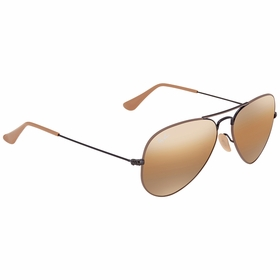 Ray Ban RB30259153AG55 Aviator Mirror Mens  Sunglasses