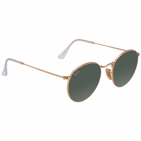 Ray Ban RB3447N 001 50 Round Flat Lenses   Sunglasses