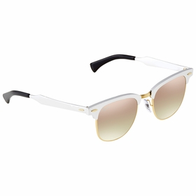 Ray Ban RB3507-137/7O-51 CLUBMASTER ALUMINUM Unisex  Sunglasses