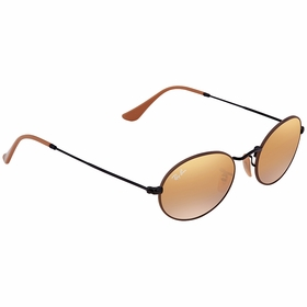 Ray Ban RB35479153AG51 Oval Mens  Sunglasses