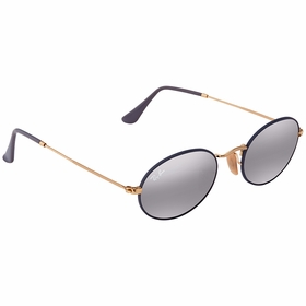 Ray Ban RB35479154AH51 Oval   Sunglasses