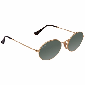 Ray Ban RB3547N 001 54 Oval Flat Lenses Unisex  Sunglasses