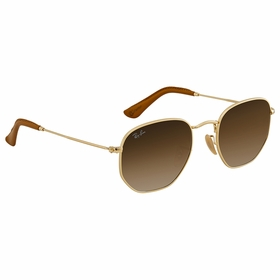 Ray Ban RB3548N 001/51 51 Hexagonal   Sunglasses