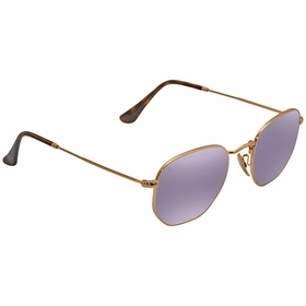 Ray Ban RB3548N-001/8O-48 Hexagonal Flat Lenses Ladies  Sunglasses