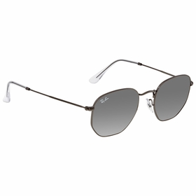 Ray Ban RB3548N 004/7151 Hexagonal Flat Lenses   Sunglasses