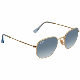 Ray Ban RB3548N 91233M51 Hexagonal Flat Lenses   Sunglasses