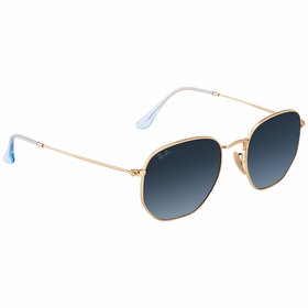Ray Ban RB3548N 91233M54 Hexagonal   Sunglasses
