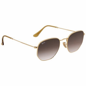 Ray Ban RB3548N 91244354 Hexagonal Flat Lenses   Sunglasses