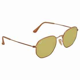 Ray Ban RB3548N 91314C 51 Hexagonal Evolve Unisex  Sunglasses