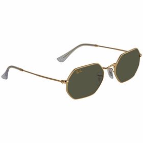 Ray Ban RB3556 919631 53 Octagonal Legend Gold Unisex  Sunglasses