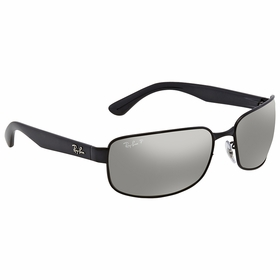 Ray Ban RB3566CH 002/5J 65 Chromance Mens  Sunglasses