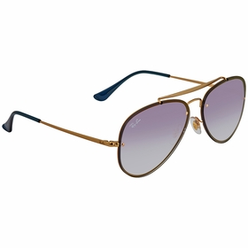 Ray Ban RB3584N 91400S58 Blaze Aviator   Sunglasses