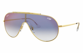 Ray Ban RB3597 001/X0 33 Wings Ladies  Sunglasses