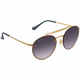 Ray Ban RB3614N 91400S 54 Blaze Round Double Bridge Ladies  Sunglasses