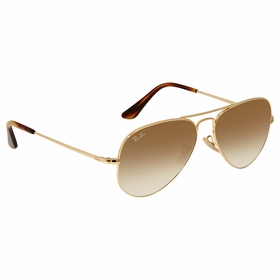 Ray Ban RB368991475155 RB3689 Unisex  Sunglasses