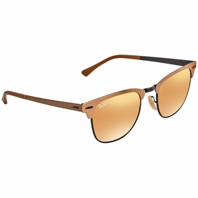 Ray Ban RB37169157AG51 Clubmaster Metal Unisex  Sunglasses